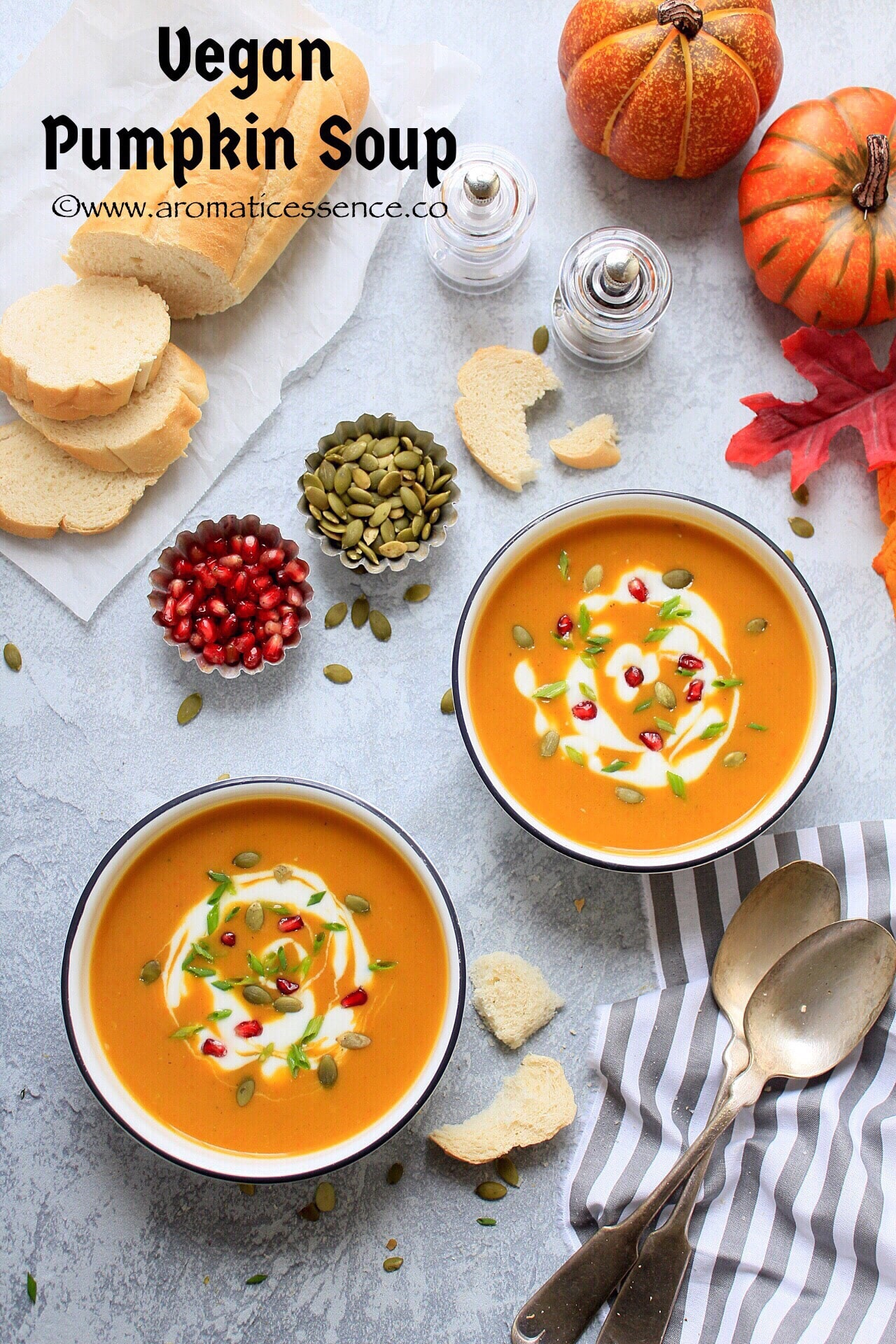 Pumpkin Soup | How To Make Pumpkin Soup (Vegan)